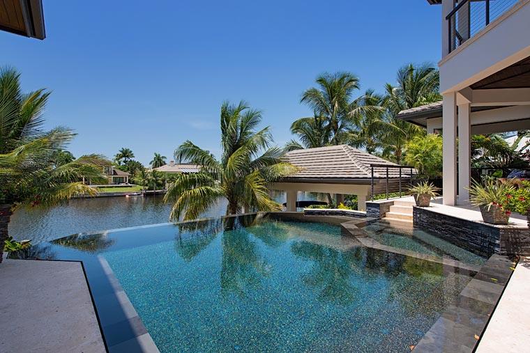 Florida, Mediterranean House Plan 71530 with 4 Beds, 8 Baths, 6 Car Garage Picture 5