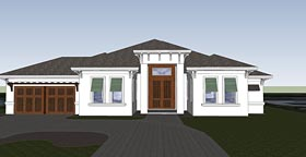 Florida Mediterranean House Plan 71532 Elevation