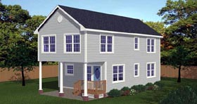 Plan Number 71901 - 1510 Square Feet