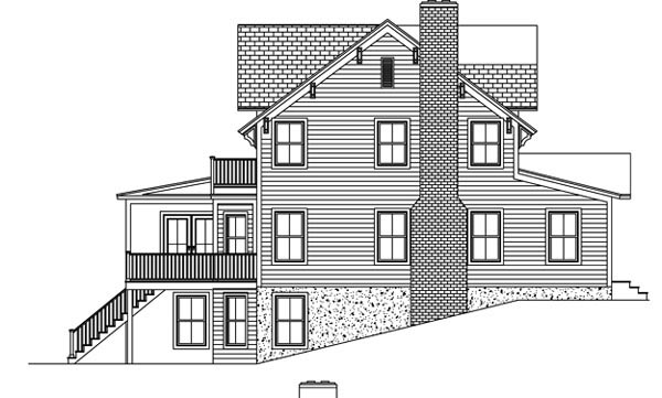 House Plan 71903 with 3 Beds, 5 Baths Picture 1
