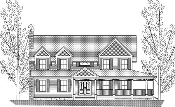 House Plan 71903 with 3 Beds, 5 Baths Picture 3