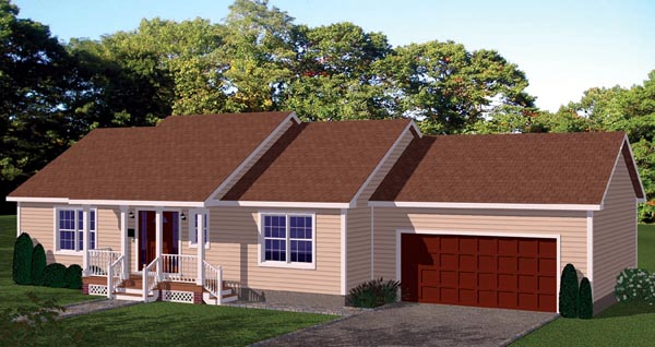 House Plan 71905 Elevation