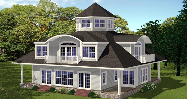 House Plan 71906 Elevation