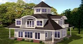 Plan Number 71906 - 3650 Square Feet