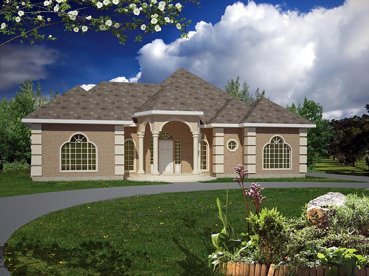 Ranch Southwest House Plan 71916 Elevation