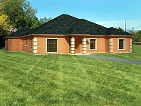 Ranch Southwest House Plan 71920 Elevation