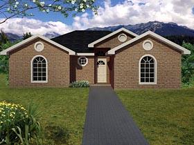 Ranch Southwest House Plan 71921 Elevation