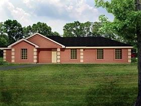 Ranch Southwest House Plan 71928 Elevation