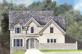 Traditional House Plan 72021 Elevation