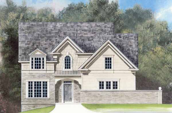 Traditional House Plan 72021 with 3 Beds, 3 Baths, 2 Car Garage Elevation