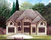 Plan Number 72025 - 3254 Square Feet