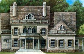 Colonial Greek Revival House Plan 72029 Elevation