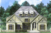 Plan Number 72043 - 3244 Square Feet