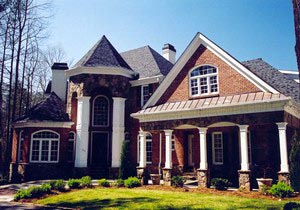 Colonial European Greek Revival House Plan 72055