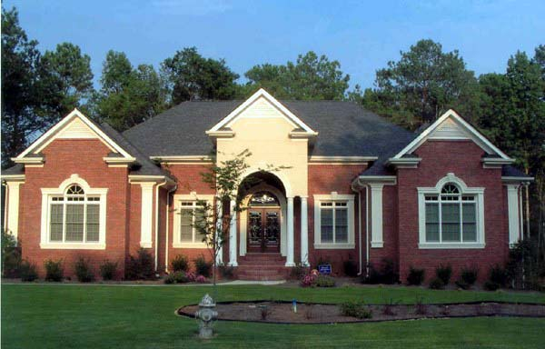 Colonial House Plan 72063 with 3 Beds, 4 Baths, 3 Car Garage Picture 4