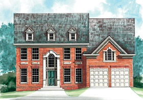 Colonial House Plan 72065 Elevation