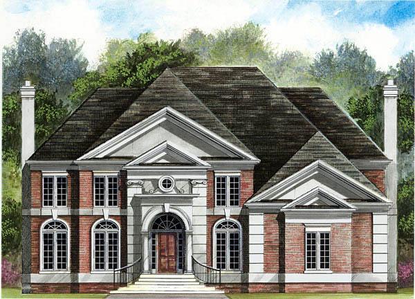 House Plan 72075