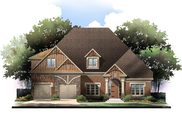 Craftsman House Plan 72081 Elevation