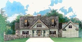 Cape Cod House Plan 72089 with 4 Beds, 3 Baths, 2 Car Garage Elevation