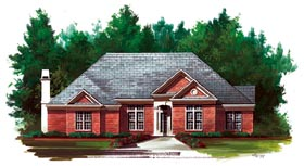 Traditional House Plan 72109 Elevation