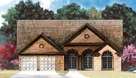 House Plan 72111 Elevation