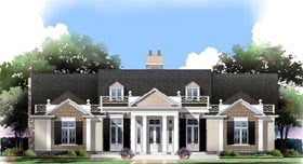 House Plan 72112 Elevation