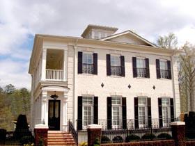 Colonial Greek Revival House Plan 72124 Elevation