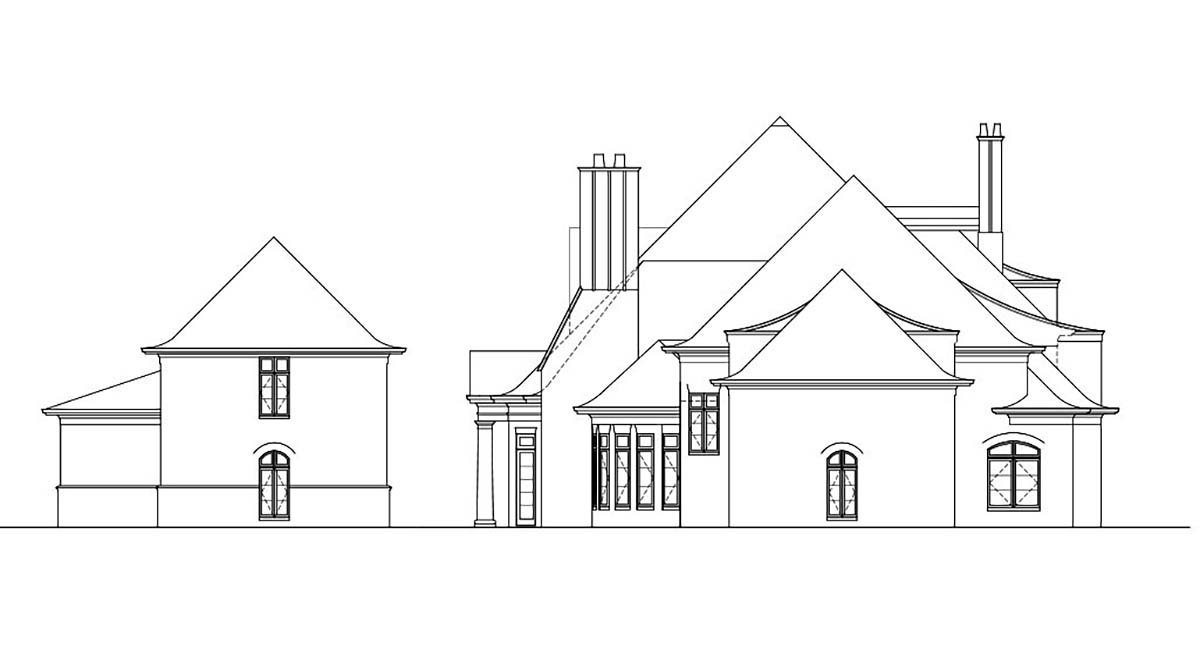 European Greek Revival House Plan 72126
