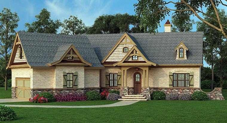 House Plan 72136 Elevation