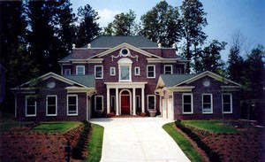 Colonial Greek Revival Plantation House Plan 72158
