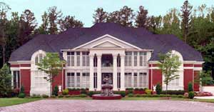 Colonial Greek Revival House Plan 72159