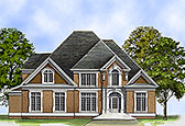 Plan Number 72205 - 3527 Square Feet