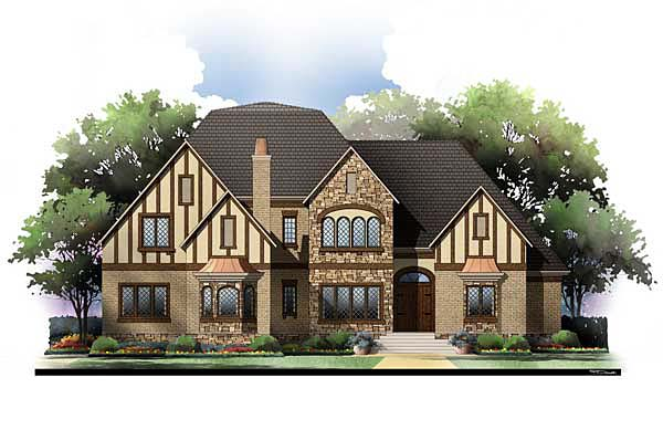 Craftsman House Plan 72208 with 3 Beds, 2 Baths, 3 Car Garage Elevation