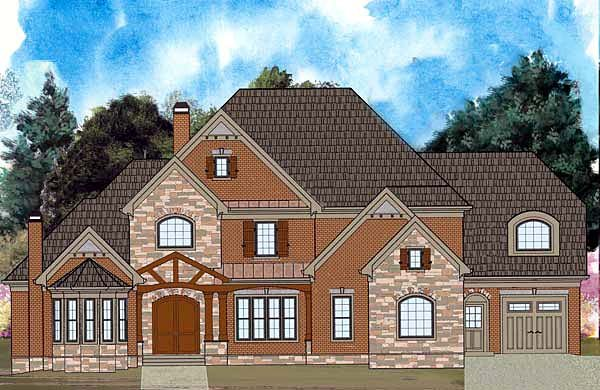 House Plan 72213 | Greek Revival Style Plan with 4222 Sq Ft, 4 Bedrooms, 5 Bathrooms, 3 Car Garage Elevation