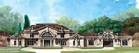 European Greek Revival House Plan 72215 Elevation