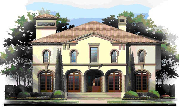 Greek Revival House Plan 72218 Elevation
