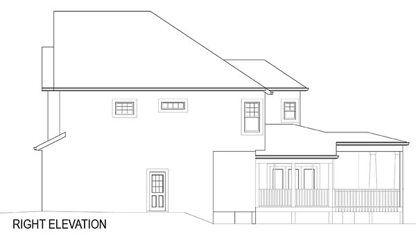Cottage, Farmhouse, French Country House Plan 72219 with 4 Beds, 4 Baths, 2 Car Garage Picture 15