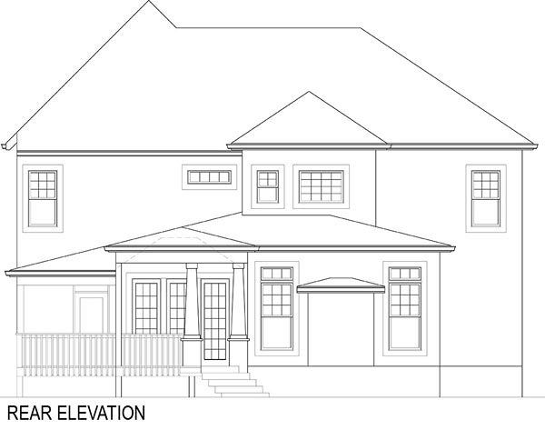 Cottage, Farmhouse, French Country House Plan 72219 with 4 Beds, 4 Baths, 2 Car Garage Picture 16