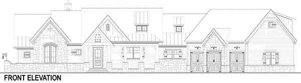 Craftsman, European, Traditional House Plan 72221 with 3 Beds, 4 Baths, 3 Car Garage Picture 1
