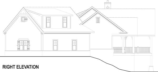 Craftsman, European, Traditional House Plan 72221 with 3 Beds, 4 Baths, 3 Car Garage Picture 4