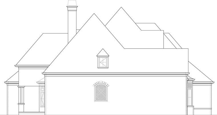 European House Plan 72227