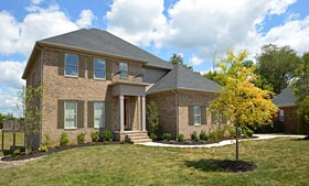 Colonial , Southern House Plan 72231 with 4 Beds, 4 Baths, 2 Car Garage Elevation