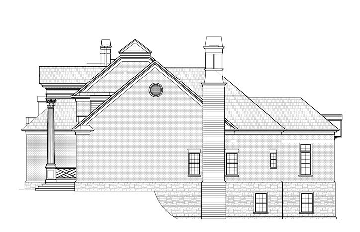 Colonial, Southern House Plan 72233 with 4 Beds, 4 Baths, 3 Car Garage Picture 1
