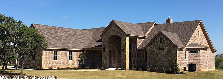 European , Traditional House Plan 72246 with 4 Beds, 4 Baths, 3 Car Garage Elevation