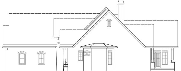 European, Traditional House Plan 72246 with 4 Beds, 4 Baths, 3 Car Garage Picture 11