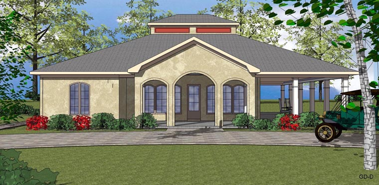 Coastal Southern House Plan 72303 Elevation