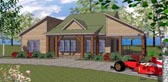 Plan Number 72305 - 1385 Square Feet