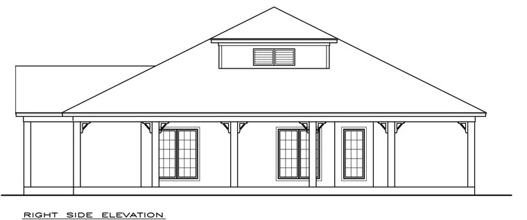 Coastal, Southern House Plan 72306 with 2 Beds, 2 Baths Picture 1