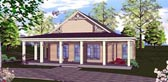 Plan Number 72313 - 1189 Square Feet