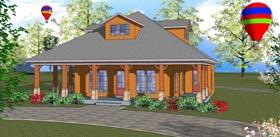 Cottage Florida Southern House Plan 72321 Elevation